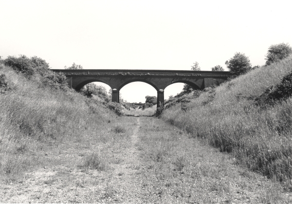The Last Main Line in 1977. This view along an empty trackbed in Leicestershire proves that despite the London Extension's relatively short life, its cuttings and embankments will continue as a prodigious reminder of the invaluable contribution made by navvies to the railway age.