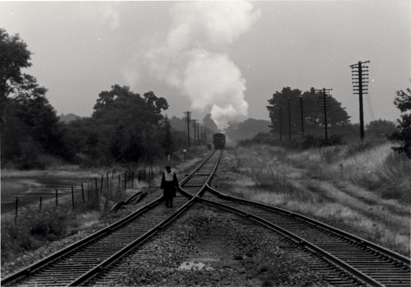 An atmospheric shot taken at Quorn & Woodhouse Station on the preserved Great Central Railway.